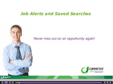 Job Alerts & Saved Searches