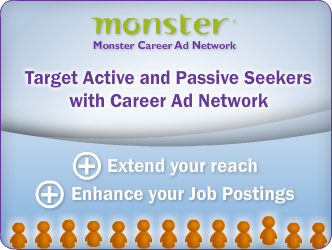 Employers: See how Monster.com job postings are distributed via optimized digital recruitment ads
