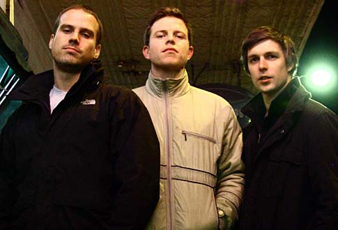 Anthony MacFarlane, Nick Boshier and Jarod Green
